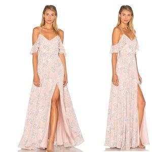 NWT Lovers + Friends Taylor Gown